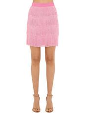skirt,beaded,pink