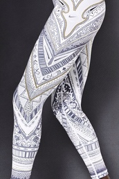 pants,nike,running tights,leggings,aztec leggings,tights,white,pattern,joggers,hot,cute