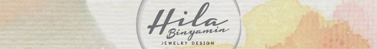 Unique designer jewelry with a stylish chic twist by HilaBinyamin