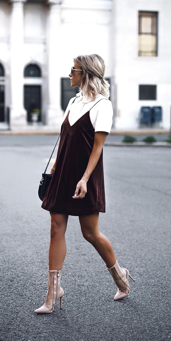 70180d0bb54 dress tumblr velvet slip dress velvet velvet dress mini dress burgundy  burgundy dress dress over t.