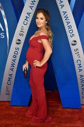 dress,bodycon dress,maternity dress,maternity,cma awards,jessie james