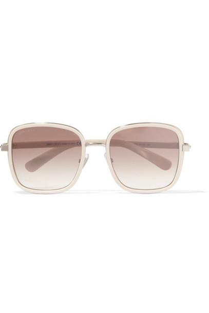 Jimmy Choo sunglasses suede