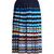 Aura Eirene-jacquard pleated skirt