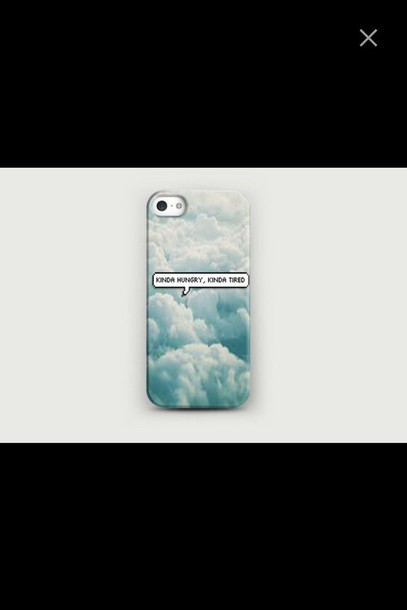 phone cover sky clouds phone cover phone iphone case blue grunge