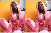 jumpsuit,pink,velvet,pink velvet,crushed velvet,juice couture tracksuit,tracksuit,cute,beautiful,plus size,plus size tracksuit,gorgeous