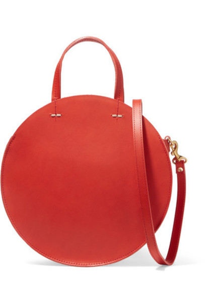 Clare V. bag shoulder bag leather red