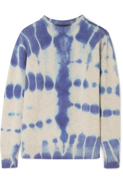 The Elder Statesman sweater blue