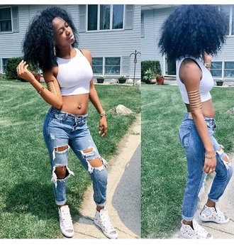 jeans urban dope ripped jeans