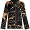 Panther-print silk-twill pyjama top | valentino | matchesfashion.com us