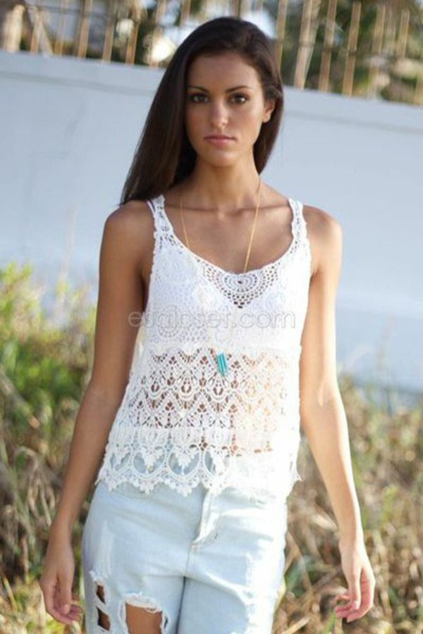 top lace lace shirt festival top festival coachella coachella coachella top slinky relaxed scoop neck white outfit white shirt white lace top