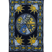 home decor,garden,wall hanging tapestries,sun,moon tapestries,top,annemerel,blogger
