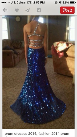 prom dress sparkle silver straps