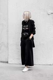 figtny,blogger,t-shirt,belt,bag,shoes,gucci bag,gucci,gucci t-shirt,blazer