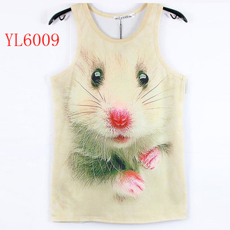 woman shirt 3d shirt rabbit shirt t-shirt