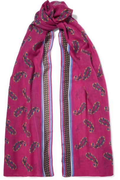 ETRO scarf pink bright