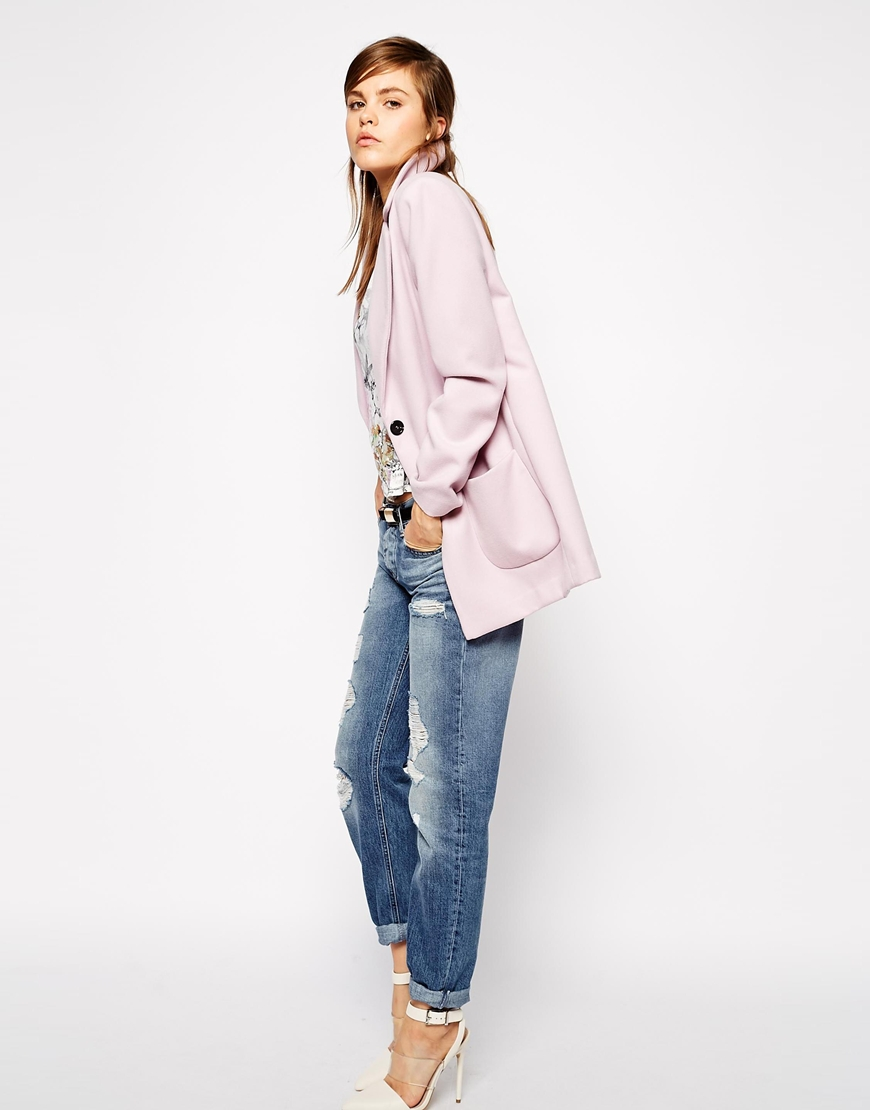 Asos ultimate slim coat at asos.com