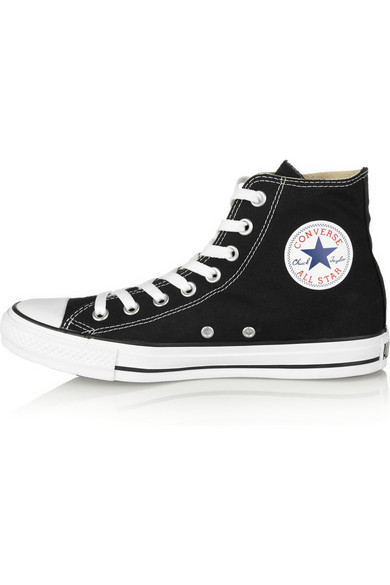 Converse | Chuck Taylor canvas high-top sneakers | NET-A-PORTER.COM