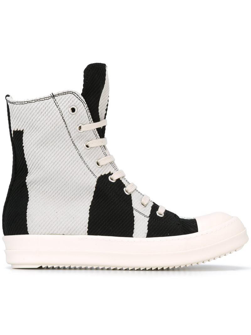 hi-top sneakers - White Rick Owens B4WEmfI