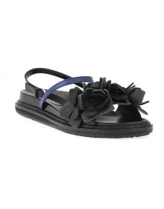 leather ocean sea dark black green shoes
