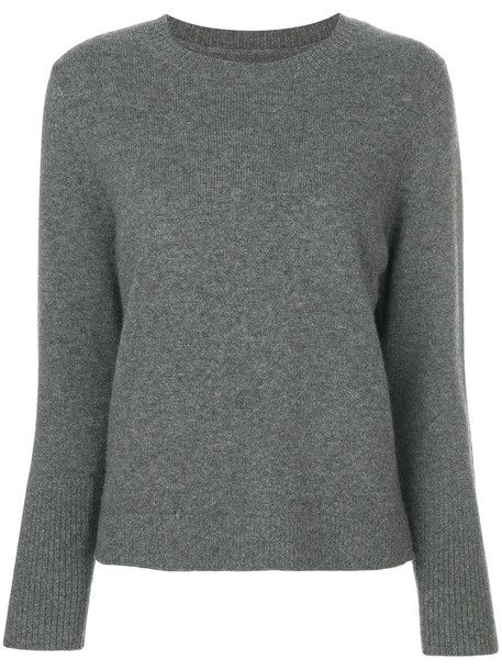 Chinti & Parker sweater women knit grey