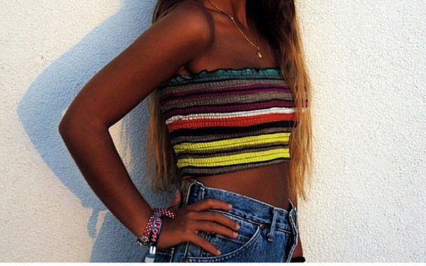 top summer colorful shirt