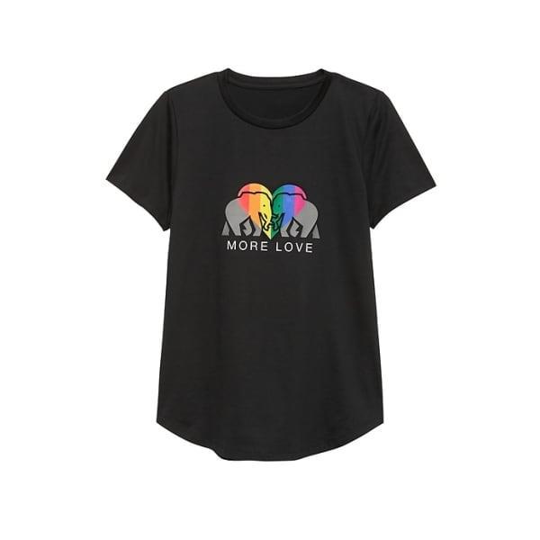 Banana Republic Women's Pride 2019 Elephant T-Shirt ( Sizes) Black Regular Size M