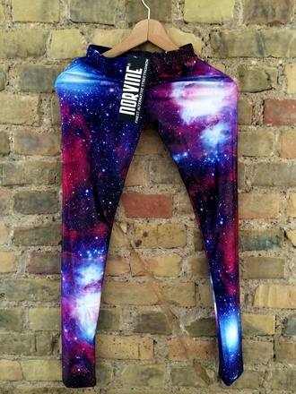 pants leggings galaxy print colorful tight star leggings space leggings galaxy leggings starry night tights purple space cool blue stars