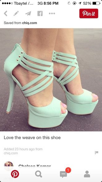shoes bright prom shoes mint green shoes cute high heels