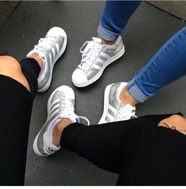 Adidas Originals Superstar Silber