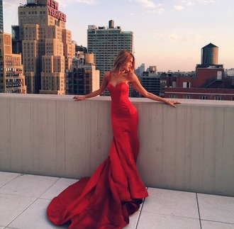 dress red prom dress prom red dress prom gown spagetti staps dresses spagetti straps style love red prom dress long prom dress elegant fishtail hot long maxi sleveless strapless homecoming dress long dress mermaid prom dress