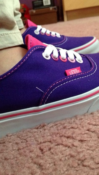 shoes vans vans sneakers pink purple shoes cute