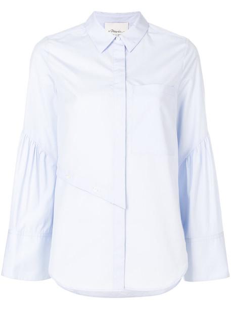 3.1 Phillip Lim shirt women cotton blue top