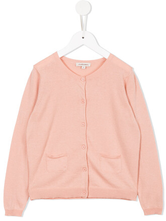cardigan girl toddler purple pink sweater