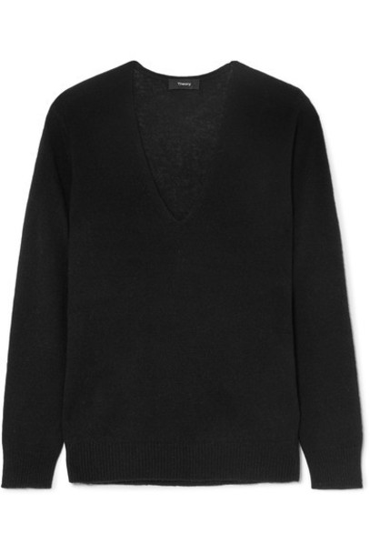 theory sweater black