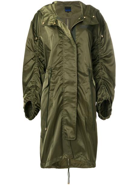 coat military coat women green