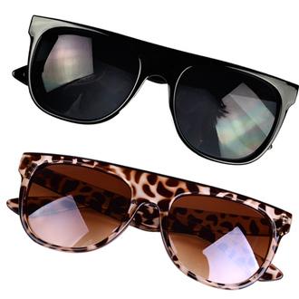 new flat sunglasses trendy super modern hipster wayfarer top frame