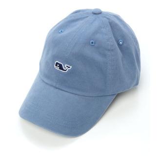 hat whale blue vineyard vines baseball hat