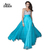 Aliexpress.com : Buy ANN DEER S108 Sexy Backless Deep V Neck Chiffon Beaded Long Prom Dresses 2016 A Line Prom Gown Formal Party Dress Robe De Soiree from Reliable dress dora suppliers on Ann Deer