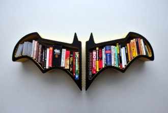 bag batman bookshelf wings home decor