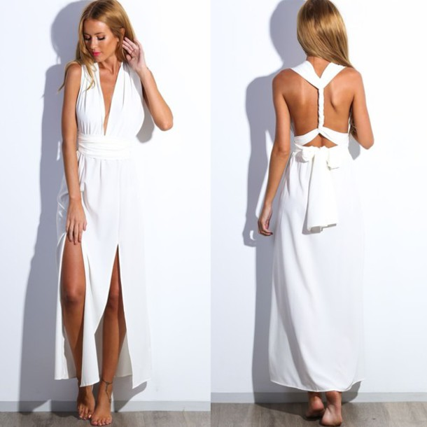 Luna maxi dress thepoplook website