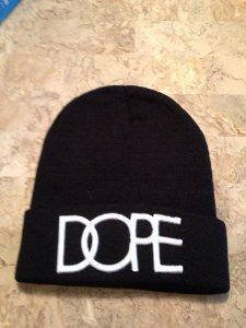 Amazon.com: Black Men's Hip-hop Dope Beanie Autumn Winter Knit Cotton Knitting Hat: Sports & Outdoors