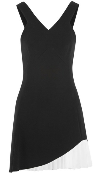 victoria beckham blouse v-neck silk wool asymmetrical skirt t-shirt cardigan