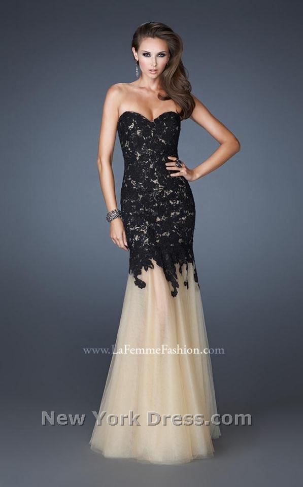 La Femme 18951 Dress - NewYorkDress.com