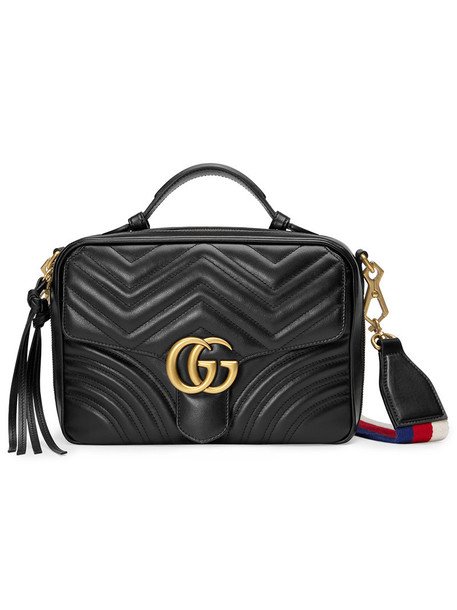 gucci women bag shoulder bag leather black