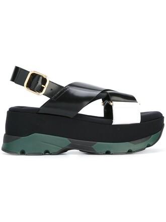 sandals platform sandals black shoes