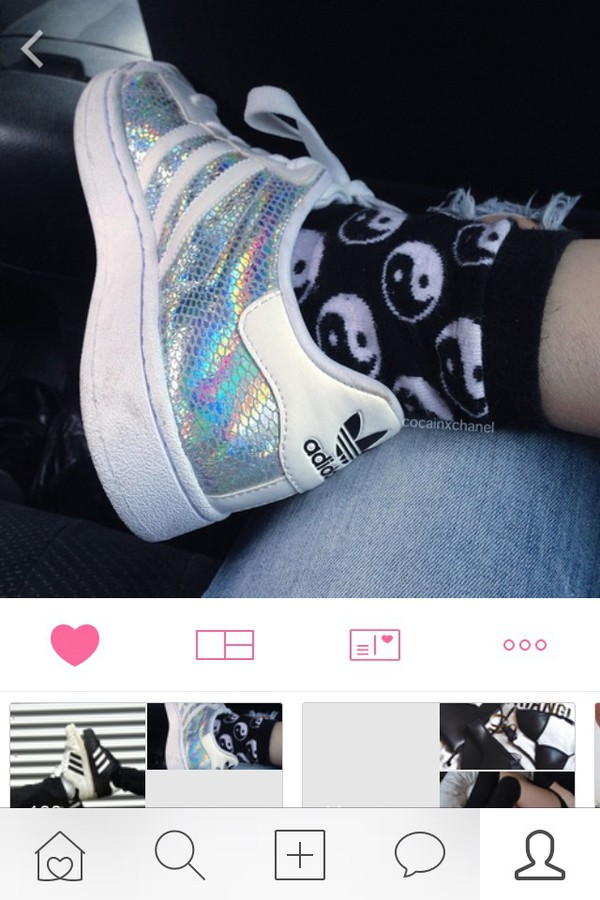 adidas superstar rainbow tumblr