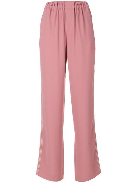 Steffen Schraut high waisted high women purple pink pants