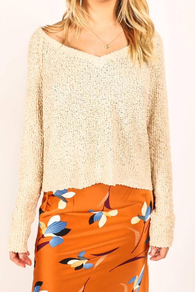 Heart & Soul Sweater (Oat)