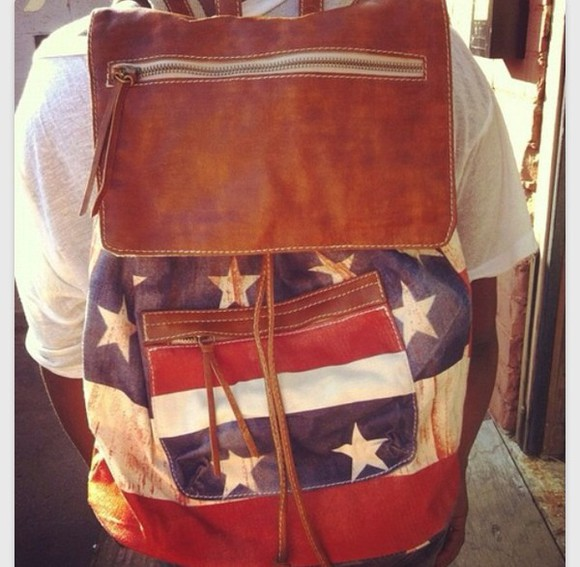 american flag bag brandy melville