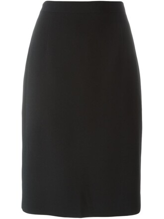 skirt pencil skirt classic black
